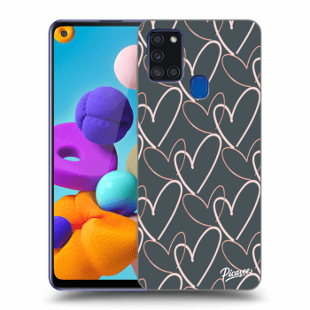 Obal pre Samsung Galaxy A21s - Lots of love