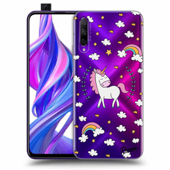 Obal pre Honor 9X Pro - Unicorn star heaven