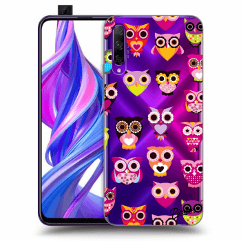 Obal pre Honor 9X Pro - Owls