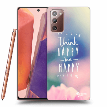 Obal pre Samsung Galaxy Note20 - Think happy be happy