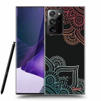 Obal pre Samsung Galaxy Note20 Ultra - Flowers pattern