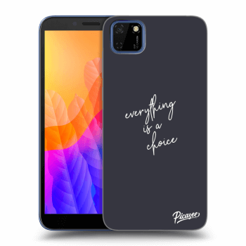 Obal pre Huawei Y5P - Everything is a choice