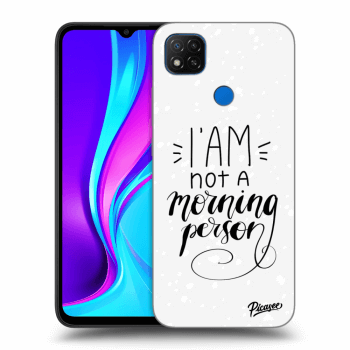 Obal pre Xiaomi Redmi 9C - I am not a morning person