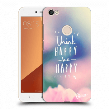 Obal pre Xiaomi Redmi Note 5A Prime - Think happy be happy
