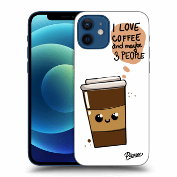 Obal pre Apple iPhone 12 - Cute coffee