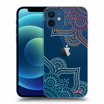 Obal pre Apple iPhone 12 - Flowers pattern