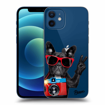 Obal pre Apple iPhone 12 - French Bulldog