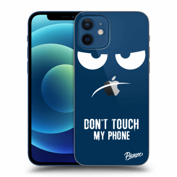 Obal pre Apple iPhone 12 - Don't Touch My Phone