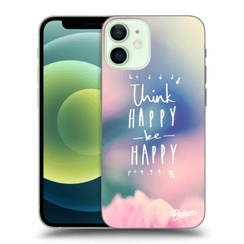 Obal pre Apple iPhone 12 mini - Think happy be happy
