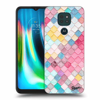Obal pre Motorola Moto G9 Play - Colorful roof