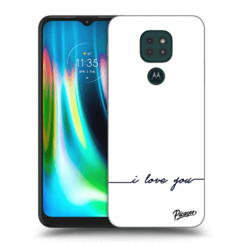Obal pre Motorola Moto G9 Play - I love you
