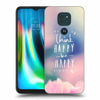 Obal pre Motorola Moto G9 Play - Think happy be happy