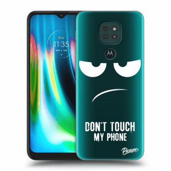 Obal pre Motorola Moto G9 Play - Don't Touch My Phone
