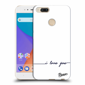 Obal pre Xiaomi Mi A1 Global - I love you