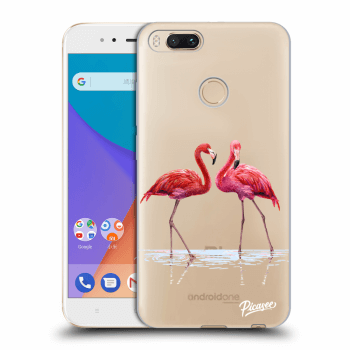 Obal pre Xiaomi Mi A1 Global - Flamingos couple