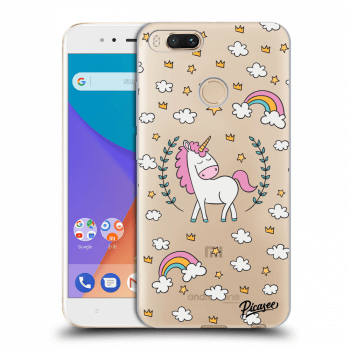Obal pre Xiaomi Mi A1 Global - Unicorn star heaven