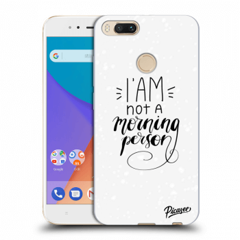 Obal pre Xiaomi Mi A1 Global - I am not a morning person