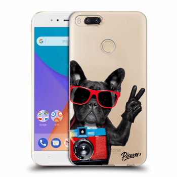 Obal pre Xiaomi Mi A1 Global - French Bulldog