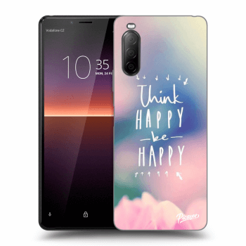 Obal pre Sony Xperia 10 II - Think happy be happy