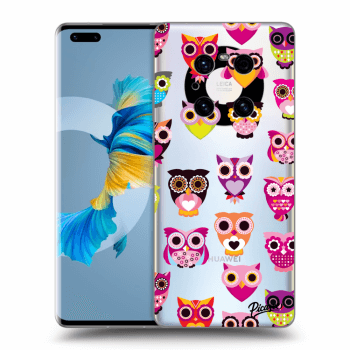Obal pre Huawei Mate 40 Pro - Owls