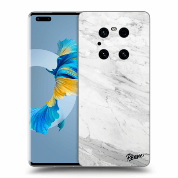 Obal pre Huawei Mate 40 Pro - White marble