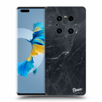 Obal pre Huawei Mate 40 Pro - Black marble