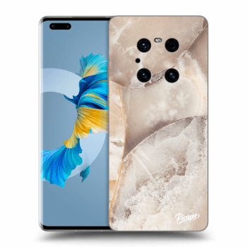 Obal pre Huawei Mate 40 Pro - Cream marble