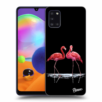 Obal pre Samsung Galaxy A31 A315F - Flamingos couple