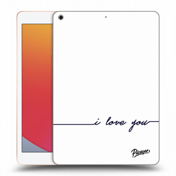 Obal pre Apple iPad 2020 (8. gen) - I love you