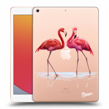 Obal pre Apple iPad 2020 (8. gen) - Flamingos couple