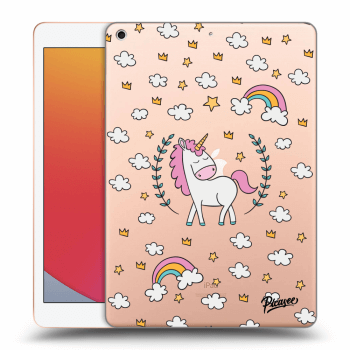 Obal pre Apple iPad 2020 (8. gen) - Unicorn star heaven