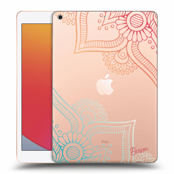 Obal pre Apple iPad 2020 (8. gen) - Flowers pattern