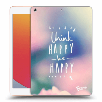 Obal pre Apple iPad 2020 (8. gen) - Think happy be happy