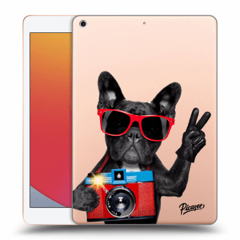 Obal pre Apple iPad 2020 (8. gen) - French Bulldog