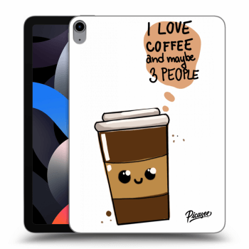 Obal pre Apple iPad Air 4 (2020) - Cute coffee