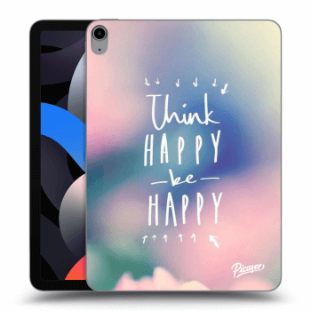 Obal pre Apple iPad Air 4 (2020) - Think happy be happy