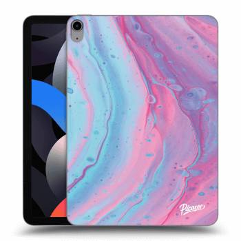 Obal pre Apple iPad Air 4 (2020) - Pink liquid