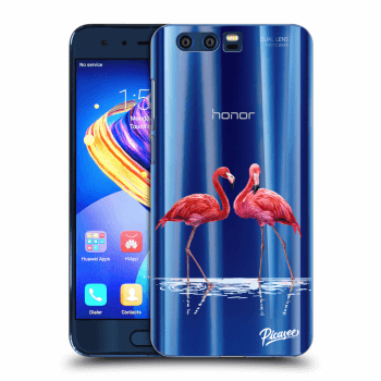 Obal pre Honor 9 - Flamingos couple