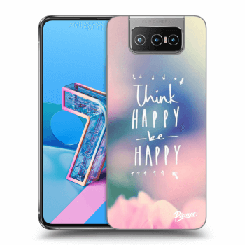 Obal pre Asus Zenfone 7 ZS670KS - Think happy be happy