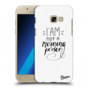 Obal pre Samsung Galaxy A3 2017 A320F - I am not a morning person