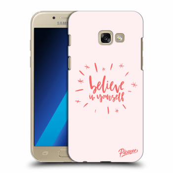 Obal pre Samsung Galaxy A3 2017 A320F - Believe in yourself