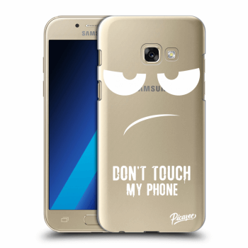 Obal pre Samsung Galaxy A3 2017 A320F - Don't Touch My Phone