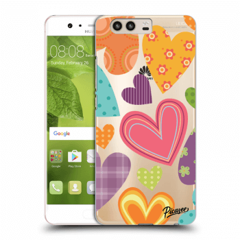 Obal pre Huawei P10 - Colored heart