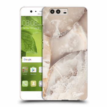 Obal pre Huawei P10 - Cream marble