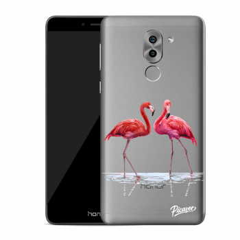 Obal pre Honor 6X - Flamingos couple