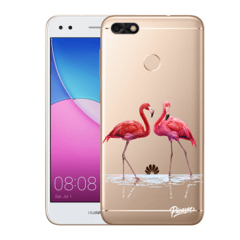 Obal pre Huawei P9 Lite Mini - Flamingos couple