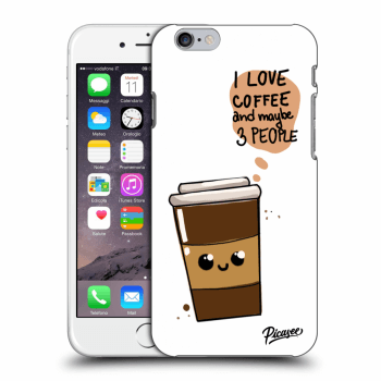 Obal pre Apple iPhone 6/6S - Cute coffee