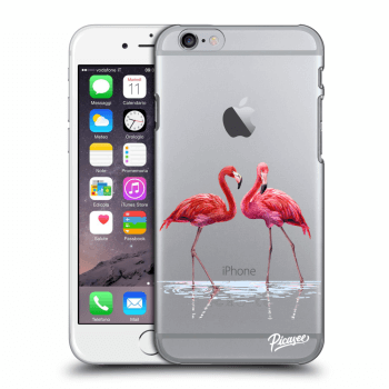 Obal pre Apple iPhone 6/6S - Flamingos couple