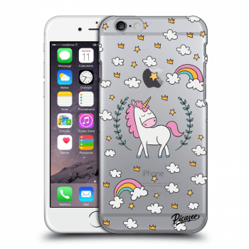 Obal pre Apple iPhone 6/6S - Unicorn star heaven
