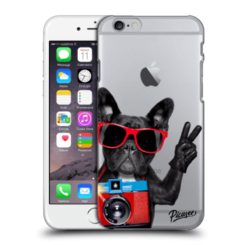 Obal pre Apple iPhone 6/6S - French Bulldog